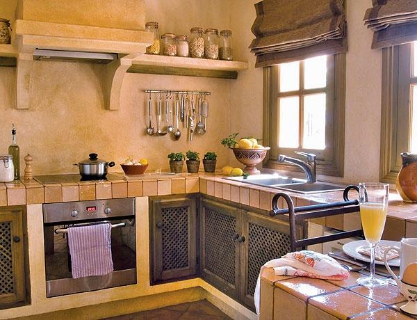 Top 5 idei de a folosi piatra naturala in bucataria ta - Cocinas pequenas rusticas ...