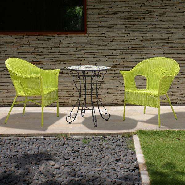 Mobexpert-masuta-rotunda-2-scaune-verde-negru-MARTIN-SET-01-1b