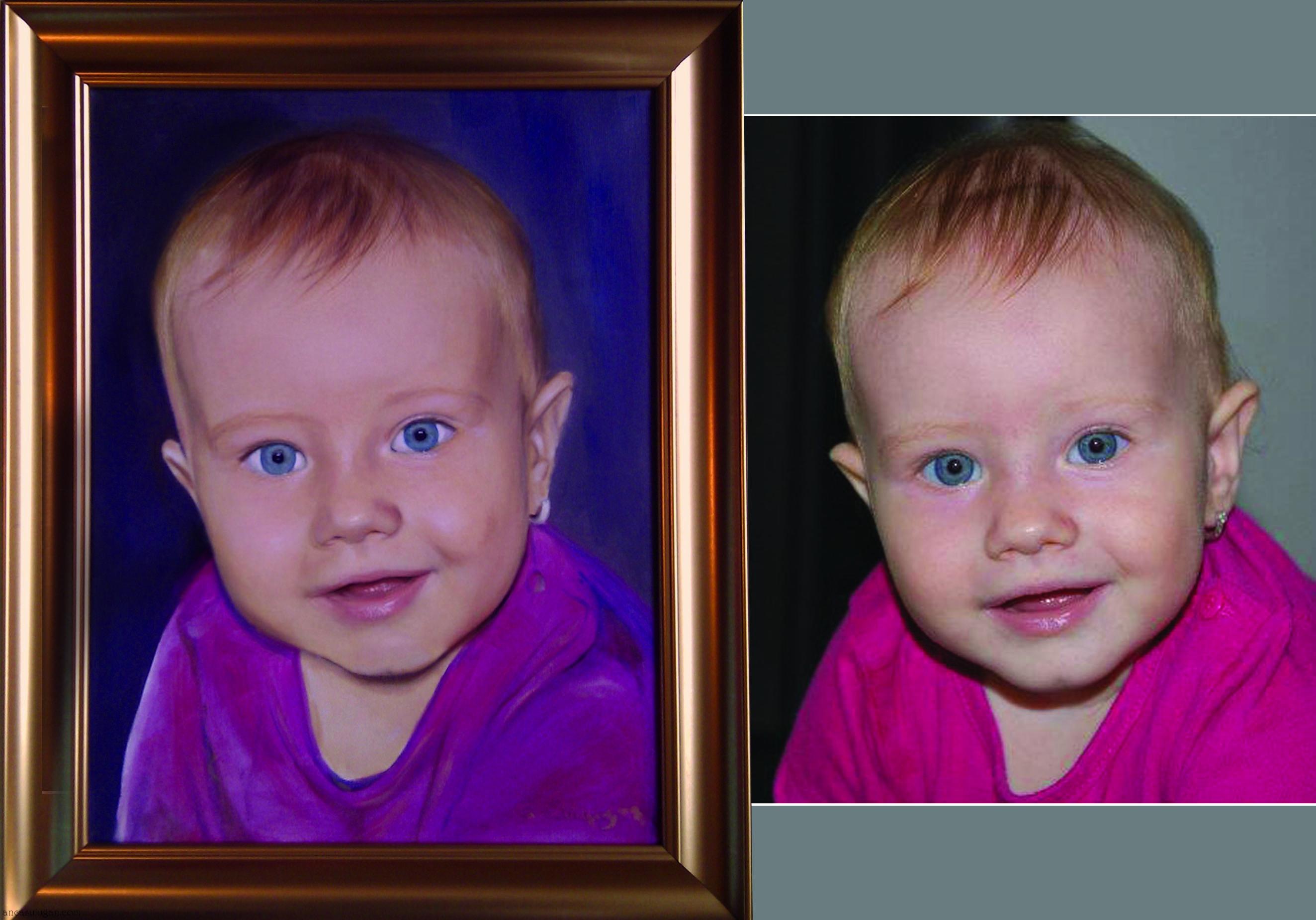 pictura-portret-fetita
